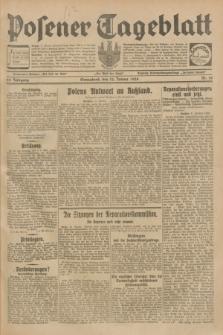 Posener Tageblatt. Jg.68, Nr. 10 (12 Januar 1929) + dod.
