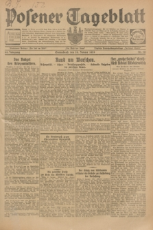 Posener Tageblatt. Jg.68, Nr. 16 (19 Januar 1929) + dod.