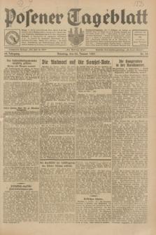 Posener Tageblatt. Jg.68, Nr. 18 (22 Januar 1929) + dod.