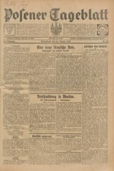 Posener Tageblatt. Jg.68, Nr. 22 (26 Januar 1929) + dod.