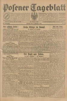 Posener Tageblatt. Jg.68, Nr. 27 (1 Februar 1929) + dod.