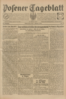 Posener Tageblatt. Jg.68, Nr. 31 (7 Februar 1929) + dod.