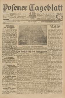 Posener Tageblatt. Jg.68, Nr. 33 (9 Februar 1929) + dod.