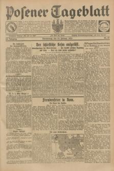 Posener Tageblatt. Jg.68, Nr. 37 (14 Februar 1929) + dod.