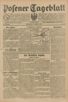 Posener Tageblatt. Jg.68, Nr. 38 (15 Februar 1929) + dod.