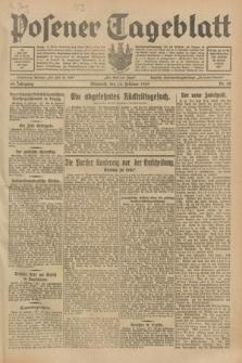 Posener Tageblatt. Jg.68, Nr. 42 (20 Februar 1929) + dod.