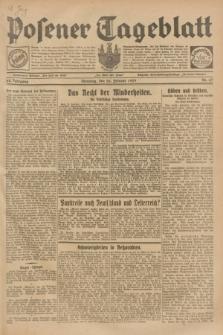 Posener Tageblatt. Jg.68, Nr. 47 (26 Februar 1929) + dod.