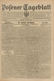 Posener Tageblatt. Jg.68, Nr. 54 (6 März 1929) + dod.