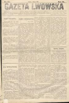 Gazeta Lwowska. 1885, nr54