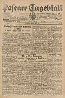 Posener Tageblatt. Jg.68, Nr. 57 (9 März 1929) + dod.