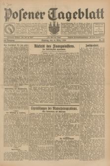Posener Tageblatt. Jg.68, Nr. 58 (10 März 1929) + dod.