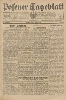 Posener Tageblatt. Jg.68, Nr. 60 (13 März 1929) + dod.