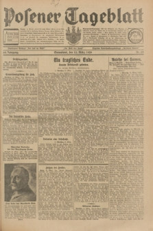 Posener Tageblatt. Jg.68, Nr. 69 (23 März 1929) + dod.