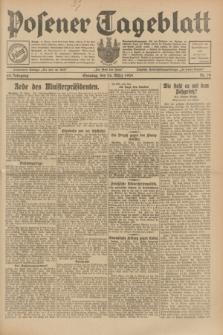 Posener Tageblatt. Jg.68, Nr. 70 (24 März 1929) + dod.