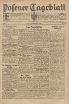 Posener Tageblatt. Jg.68, Nr. 74 (29 März 1929) + dod.