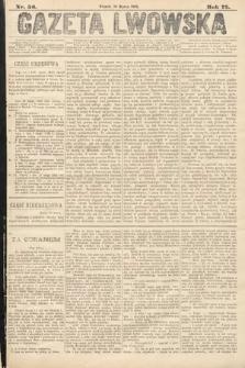 Gazeta Lwowska. 1885, nr56