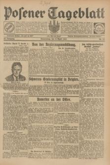Posener Tageblatt. Jg.68, Nr. 77 (4 April 1929) + dod.