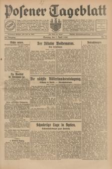 Posener Tageblatt. Jg.68, Nr. 80 (7 April 1929) + dod.