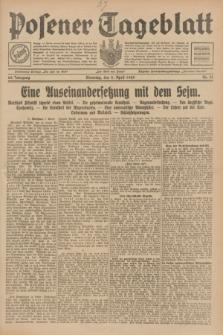 Posener Tageblatt. Jg.68, Nr. 81 (9 April 1929) + dod.