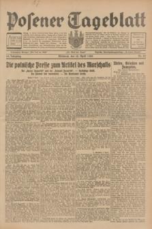 Posener Tageblatt. Jg.68, Nr. 82 (10 April 1929) + dod.