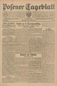 Posener Tageblatt. Jg.68, Nr. 83 (11 April 1929) + dod.