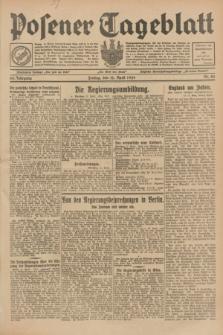 Posener Tageblatt. Jg.68, Nr. 84 (12 April 1929) + dod.