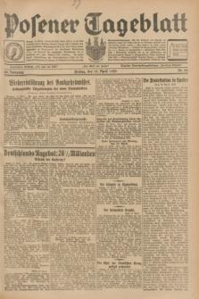 Posener Tageblatt. Jg.68, Nr. 90 (19 April 1929) + dod.