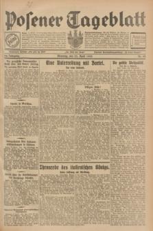 Posener Tageblatt. Jg.68, Nr. 93 (23 April 1929) + dod.