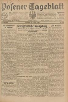 Posener Tageblatt. Jg.68, Nr. 103 (5 Mai 1929) + dod.
