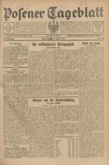 Posener Tageblatt. Jg.68, Nr. 105 (8 Mai 1929) + dod.