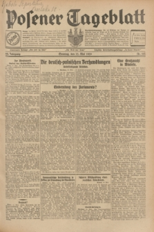 Posener Tageblatt. Jg.68, Nr. 108 (12 Mai 1929) + dod.