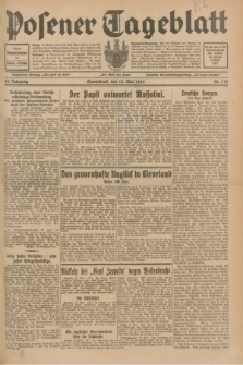 Posener Tageblatt. Jg.68, Nr. 113 (18 Mai 1929) + dod.