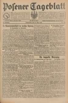 Posener Tageblatt. Jg.68, Nr. 116 (23 Mai 1929) + dod.