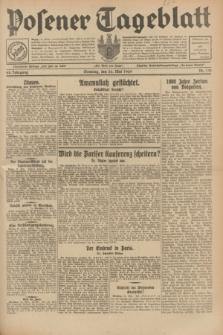 Posener Tageblatt. Jg.68, Nr. 119 (26 Mai 1929) + dod.