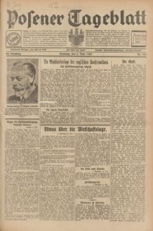 Posener Tageblatt. Jg.68, Nr. 124 (2 Juni 1929) + dod.