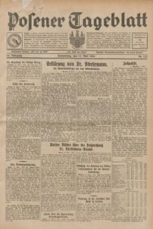Posener Tageblatt. Jg.68, Nr. 133 (13 Juni 1929) + dod.