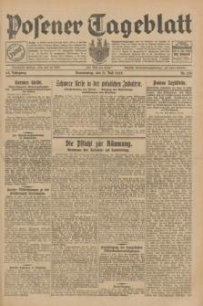 Posener Tageblatt. Jg.68, Nr. 156 (11 Juli 1929) + dod.