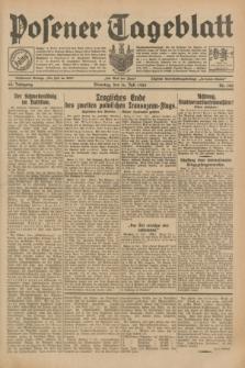 Posener Tageblatt. Jg.68, Nr. 160 (16 Juli 1929) + dod.
