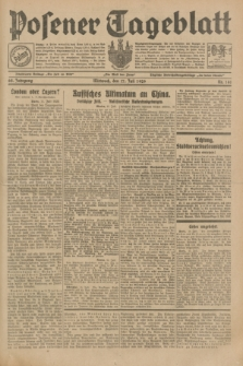 Posener Tageblatt. Jg.68, Nr. 161 (17 Juli 1929) + dod.