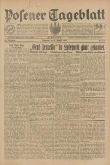 Posener Tageblatt. Jg.68, Nr. 178 (6 August 1929) + dod.