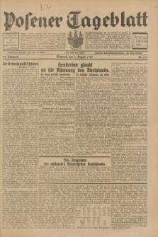 Posener Tageblatt. Jg.68, Nr. 179 (7 August 1929) + dod.