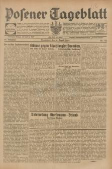 Posener Tageblatt. Jg.68, Nr. 182 (10 August 1929) + dod.