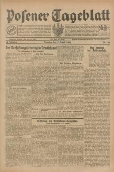 Posener Tageblatt. Jg.68, Nr. 184 (13 August 1929) + dod.