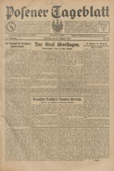 Posener Tageblatt. Jg.68, Nr. 188 (18 August 1929) + dod.