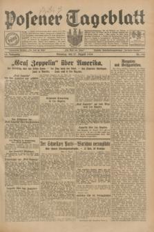 Posener Tageblatt. Jg.68, Nr. 195 (27 August 1929) + dod.