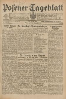 Posener Tageblatt. Jg.68, Nr. 196 (28 August 1929) + dod.