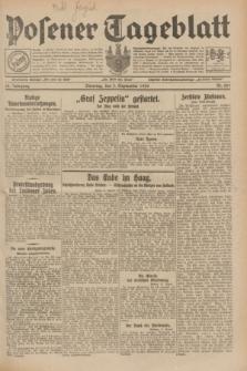 Posener Tageblatt. Jg.68, Nr. 201 (3 September 1929) + dod.