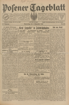 Posener Tageblatt. Jg.68, Nr. 203 (5 September 1929) + dod.