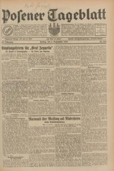 Posener Tageblatt. Jg.68, Nr. 204 (6 September 1929) + dod.