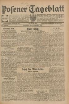 Posener Tageblatt. Jg.68, Nr. 205 (7 September 1929) + dod.